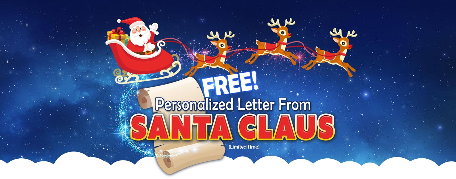 Free personalized letter from santa letter from santa spiritdancerdesigns Images